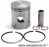 piston malossi de scooter pour cylindre fonte : peugeot buxy treeker tkr vivacity speedfight piaggio typhoon liberty nrg zip stalker... (50cc 2t)