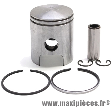 Piston top perf de scooter pour cylindre fonte : peugeot elystar metal-x speedfight 1 et 2 wrc x-fight 1 et 2(50cc 2t)