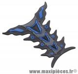 Protection de réservoir noir/bleu pour moto 50 a boite *Prix discount !