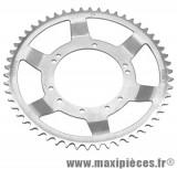 Déstockage ! Couronne Ø94mm (intérieur) 54dts 10 trous pour MBK 51 roue acier bâtons