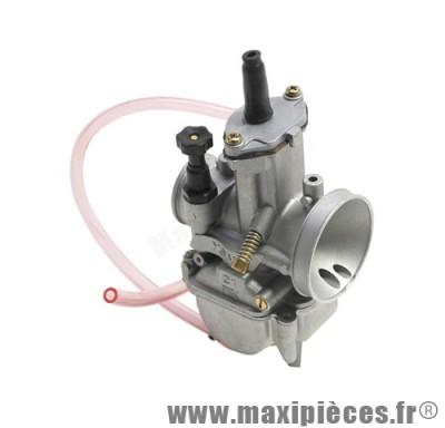 carburateur pwk 21 pour mob scooter et mécaboite (boisseau plat)
