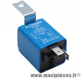 Centrale de clignotant universelle ampoule ou leds 2 fils de 0.1 a 25 ampères