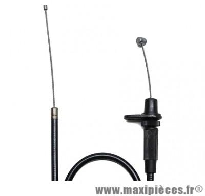 Transmission de gaz / cable d'accelerateur de scooter pour mbk nitro / yamaha aerox (complete)