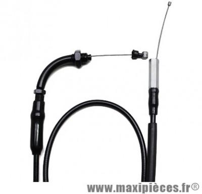 Prix spécial ! Transmission de gaz / cable d'accelerateur de scooter pour mbk ovetto/ yamaha neos