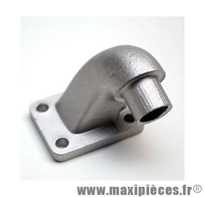 prix discount ! pipe d'admission alu rgd pour mbk 51 coudé (diamètre 15mm)