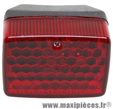 Prix spécial ! Feu arrière adaptable pour peugeot 103 mbk 51 (non homologué réservé au concours tuning, meetings, run, compétition ...)