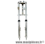 Fourche mécanique cyclo chromée adaptable Peugeot 103 sp rcx spx