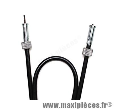 transmission / cable de compteur de mob pour mbk 51 type huret (lg 645mm)
