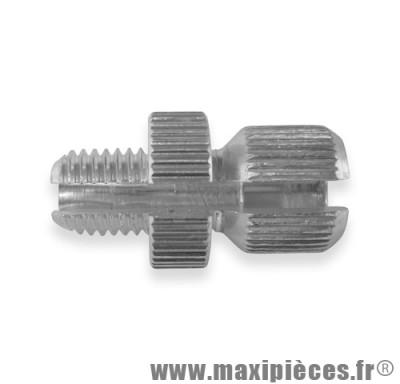 vis creuse de frein de diametre 8 (long 15) fendue pour poignee gaz mini targa ou frein,embrayage ...(vendu a l'unité)
