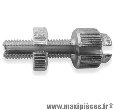 Vis creuse de frein de diametre 7 (long 25) fendue pour poignee gaz, frein,embrayage ...(vendu a l'unité)