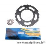 Kit chaine pour aprilia rx50 de 1999 à 2005 420 12x51 de marque igm