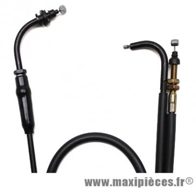 Transmission de gaz / cable d'accelerateur de scooter pour peugeot trekker/squab