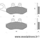 Plaquettes de freins pour aprilia sportcity one gilera gp nexus runner piaggio beverly carnaby mp3 vespa x7 ...