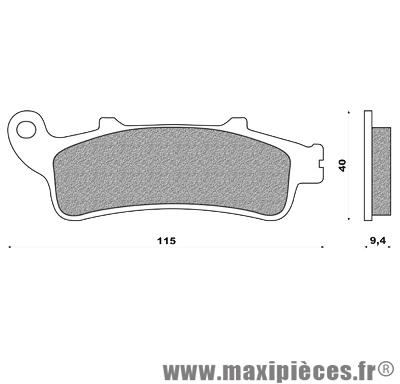Plaquettes de freins pour honda foresight forza jazz pantheon reflex silver wing peugeot sv ...