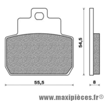Plaquettes de freins pour piaggio beverly mp3 x8/9 ...