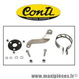 Déstockage ! Kit de montage pour pot Conti Black-Street CHR V7 passage bas pour 50 à boîte Aprilia RS4 à partir de 2011