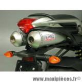 Déstockage ! Paire d'échappements Giannelli IPERSPORT titane pour Yamaha FZ6 600 FAZER de 2004 à 2007