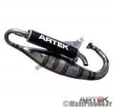 pot scoot artek k2 noir pour keeway cpi silencieux noir f10 f12 f15 ovetto neos ...