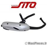 pot d'echappement type origine pour kymco vitality 50 sym euro jet...