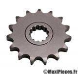 pignon de chaine (420) : 11 dents pour 50 à boite moteur am6 ...