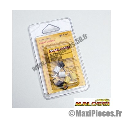 ressorts d'embrayage malossi racing (3 paire de 2) pour booster bws ...