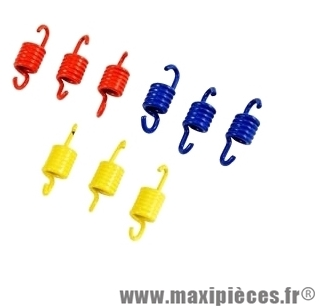 ressorts d'embrayage doppler 3par3 pour nitro booster sr50 f12 (3 machoires) ...