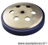 tambour d'embrayage tun'r pour speedfight typhoon nrg bleu diamètre 107.