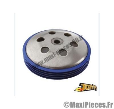 tambour d'embrayage tun'r pour booster nitro sr50 f12 bleu diamètre 107.