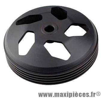 tambour d'embrayage tun'r pour piaggio typhoon noir perforé diamètre 107.